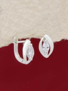 Сребърни обеци - EK015S