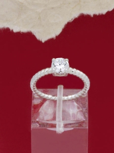 Сребърен пръстен - RK016S