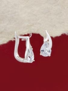 Сребърни обеци - EK018S
