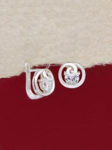 Сребърни обеци - EK020S