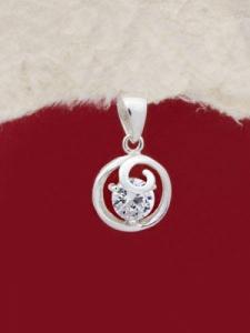 Сребърен медальон - PK020S