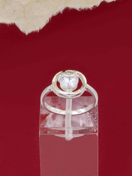 Сребърен пръстен - RK020S