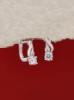 Сребърни обеци - E589S
