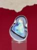 Сребърен пръстен със седеф - SRK005