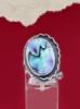 Сребърен пръстен със седеф - SRK030