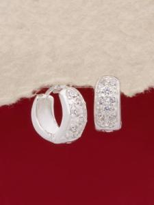 Сребърни обеци - E137152