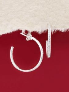 Сребърни обеци - E139314