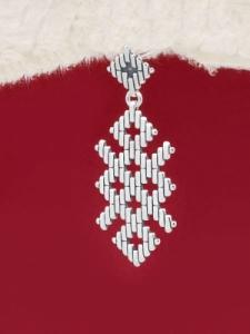 Сребърен медальон - P181104