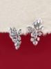 Сребърни обеци - E132151