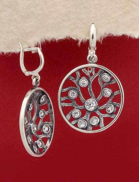 Сребърни обеци - E548S