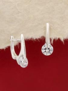Сребърни обеци - E115S