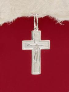 Сребърен кръст - P7058.10