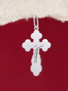 Сребърен кръст - P7103.20