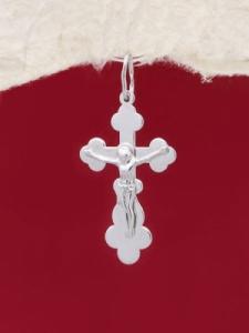 Сребърен кръст - P7117.20