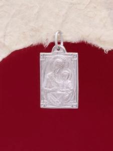 Сребърен медальон - P7134.10
