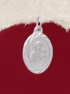 Сребърен медальон - P7138.10