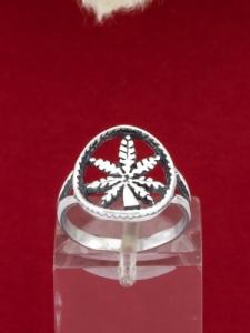 Сребърен пръстен - R028S