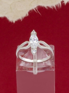 Сребърен пръстен - R790S