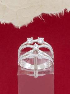Сребърен пръстен - R1220S
