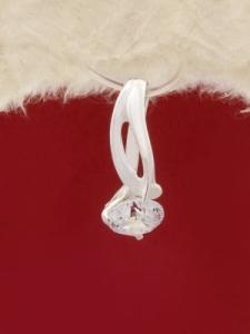 Сребърен медальон - M064S