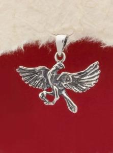 Сребърен медальон - M115AS