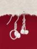 Сребърни обеци - SE_pearl