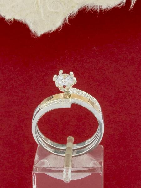Сребърен пръстен - RK0047.10