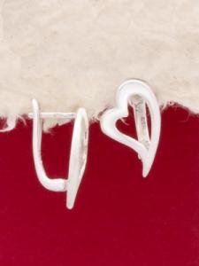 Сребърни обеци - E015St