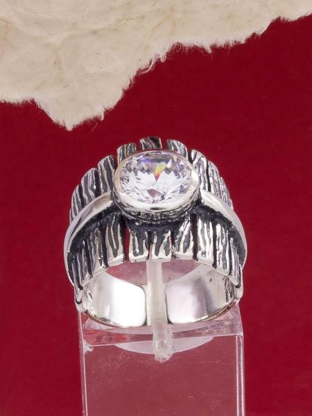 Сребърен пръстен - R002St
