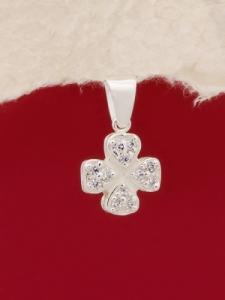 Сребърен медальон - PK393