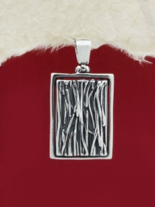 Сребърен медальон - PK244