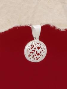 Сребърен медальон - PK392