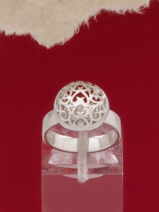 Сребърен пръстен - RK392