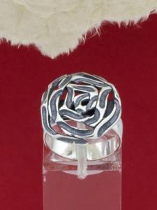Сребърен пръстен - RK247-Big