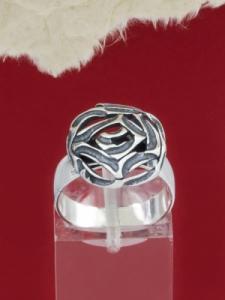 Сребърен пръстен - RK247-Small