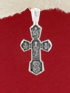 Сребърен медальон - PKS036