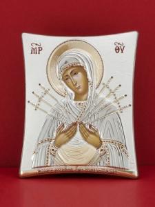 Сребърна икона - Св. Богородица - 117TBR1FWAA